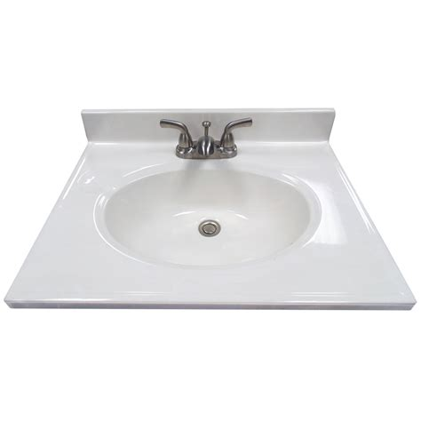 cultured marble vanity top shop us marble ambassador 101 white on white cultured