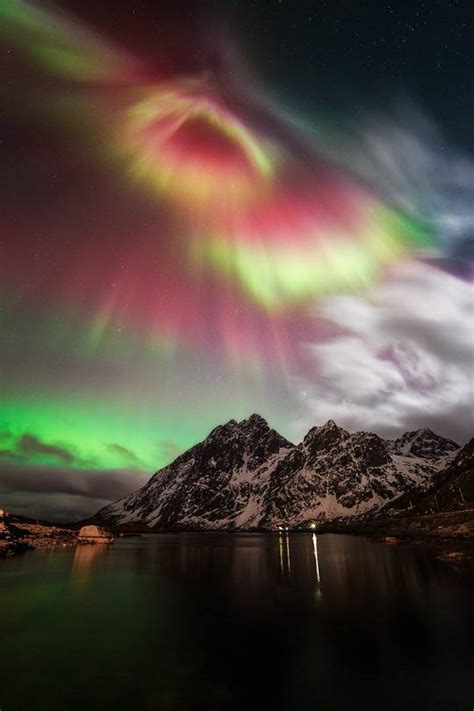 northern lights lofoten norway photo pin photo pin
