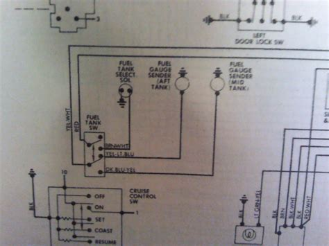 Fuel Wiring Diagram For F150 by 82 F150 Dual Tank Wiring Diagram Ford Truck Enthusiasts