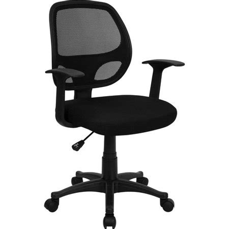 Flash Furniture Mesh Back Computer Chair, Black Walmartcom