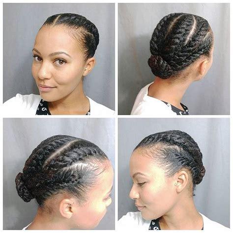 different hair updo styles flat twist hair do n a p t u r a l b e a u t