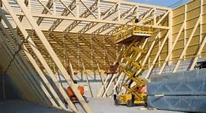 Zwischendecke Aus Holz : aufschlag beachvolleyballhalle in greimbauweise in berlin bauhandwerk ~ Sanjose-hotels-ca.com Haus und Dekorationen
