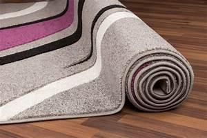 davausnet tapis salon gris violet avec des idees With tapis violet et gris
