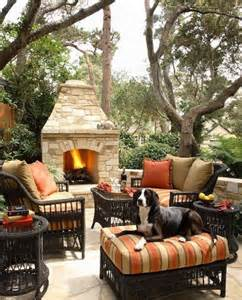 Spectacular Outdoor Fireplace Design Plans by Top 10 Patio Ideas