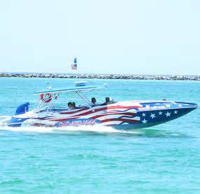 Fast Boats Destin by Speed Boat Tours Destin Vacation Boat Rentals