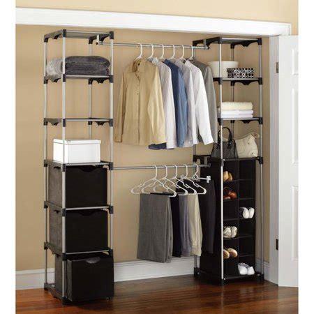 mainstays closet storage silverblack walmartcom