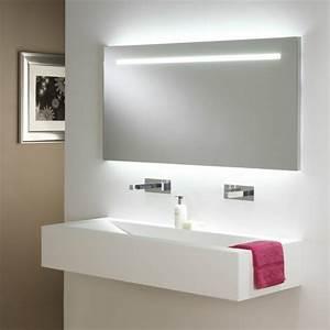 idees d39 eclairage de miroir pour la salle de bain With salle de bain eclairage miroir