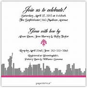 Shower Invitations Bridal Shower Invitations New York City Theme Rustic Floral Bridal Shower Invitations Bridal Shower Beach Theme Invitations Announcements Invites Reasons Why My Bridal Shower Was Awesome BridalGuide