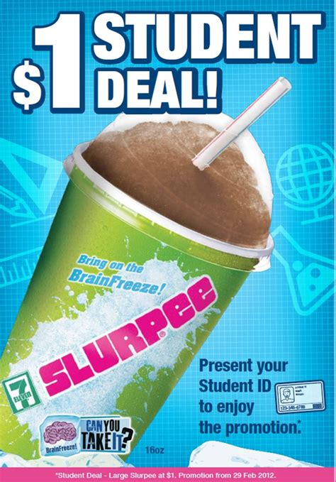 large slurpee student deal     stores great
