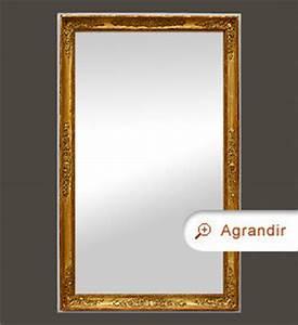 Miroir Doré Ancien : miroir restauration miroirs anciens ~ Teatrodelosmanantiales.com Idées de Décoration