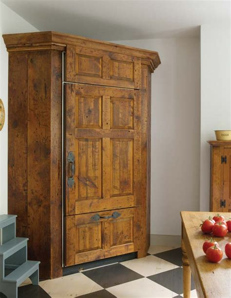 Supermarket deli refrigerator cabinet semi service counter/commercial food chest showcase. A New Colonial Kitchen - Old-House Online - Old-House Online