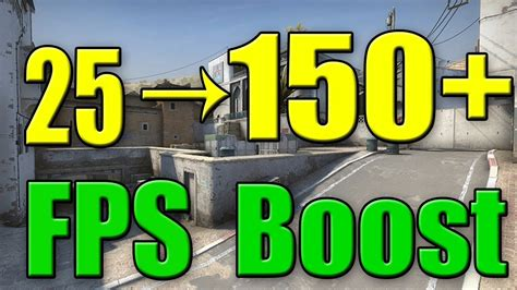 csgo fps boost  ultimate guide youtube