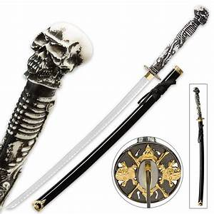 """Something Wicked"" Skull and Bones Fantasy Katana Sword ..."