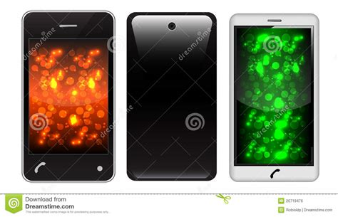 free touch screen phones touch screen phone royalty free stock image image 20719476