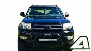 Toyota 4 Runner 4th Gen Led Light Bar Roof Mount For 42 U0026quot  Curved 2003