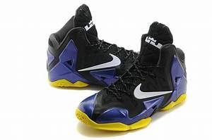 Buy Cheap New Nike Lebron James 11 Black Purple Blue Shoes ...