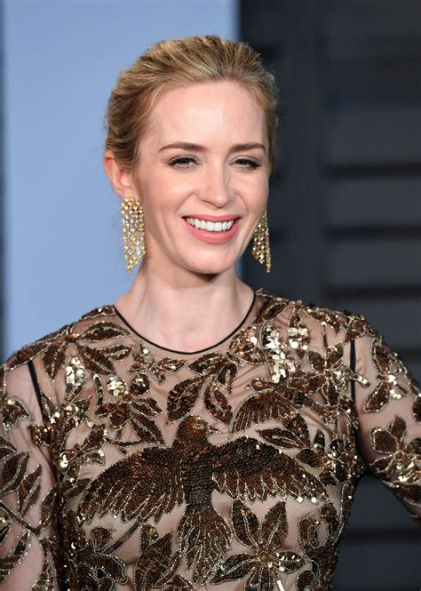 Emily Blunt – 2018 Vanity Fair Oscar Party in Beverly Hills