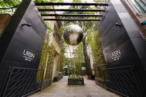 shanghai eco hotel urbn shows   green  sleek