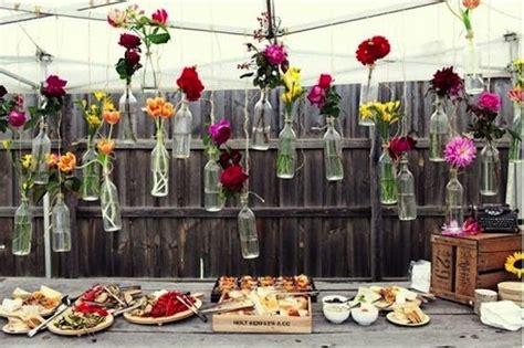 decoration buffet chic champetre ou vintage pour