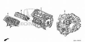 Honda Online Store   2012 Ridgeline Engine Assy