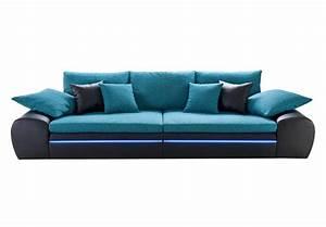 Big Sofa Türkis : big sofa dubai in schwarz t rkis inkl rgb led beleuchtung ~ Eleganceandgraceweddings.com Haus und Dekorationen