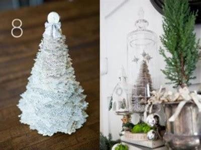 como adornar un arbol de navidad de papel manualidades navide 209 as con reciclaje