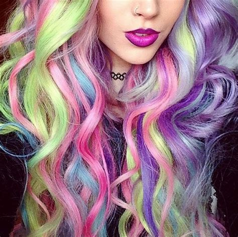 bunte haare a hair color trends you should of
