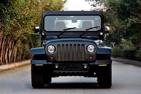 mahindra jeep thar mahindra thar hipster azad front