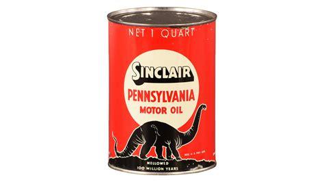 Sinclair Pennsylvania Motor Oil One Quart Oil Can