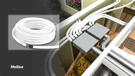Klimaanlage Einfamilienhaus Nachrüsten by Helios Flexpipe Hővisszanyerős Szellőztető Rendszer