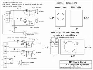 Diy Sound Works  2 1 Computer Speakers  Or Small Room Speakers