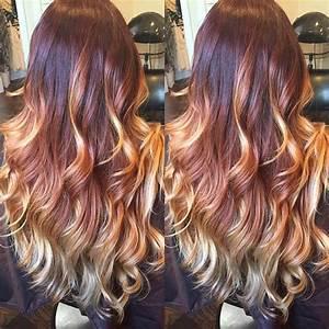 Ombré Hair Auburn : 31 best red ombre hair color ideas stayglam ~ Dode.kayakingforconservation.com Idées de Décoration