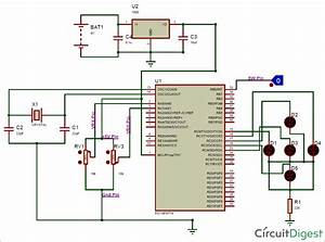 Interfacing Joystick With Pic Microcontroller  Pic16f877a
