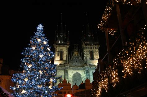 christmas decorations at the old town square prague net