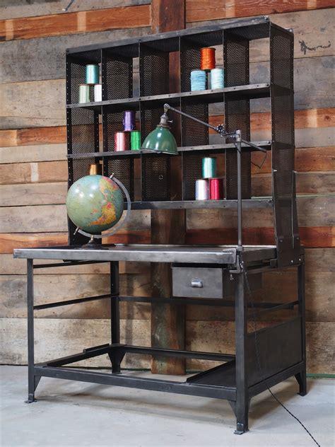 chambre style loft industriel idee deco cuisine surface