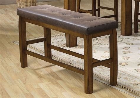 counter height bench 48 counter height storage bench dining benches backless