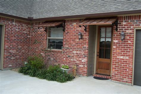 Copper Window Awnings