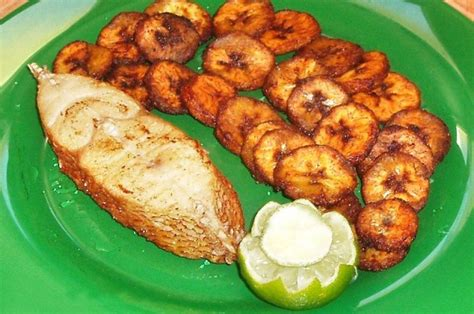 cuisine africaine plantain a typical meal i should actually get