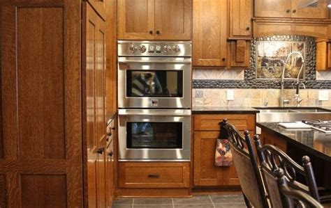 quarter sawn oak kitchen cabinets quarter sawn oak custom kitchen utica pa fairfield 7620