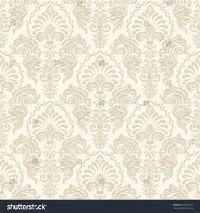 Vector Damask Seamless Pattern Background Elegant Stock ...