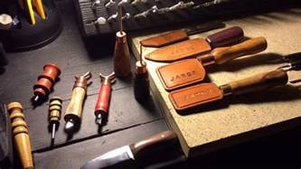 Play Tool Bench by Leather Working Tools I Ve Made And Make Youtube