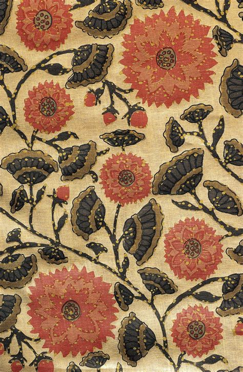 indian flower toile patterns  india indian fabric
