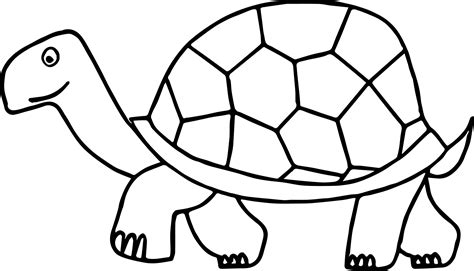 tortoise color walking tortoise turtle coloring page wecoloringpage