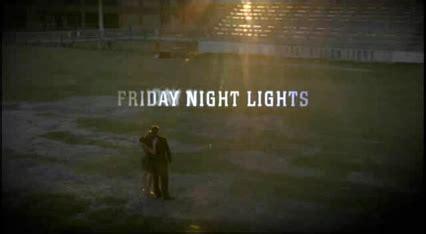 friday night lights tv series wikipedia