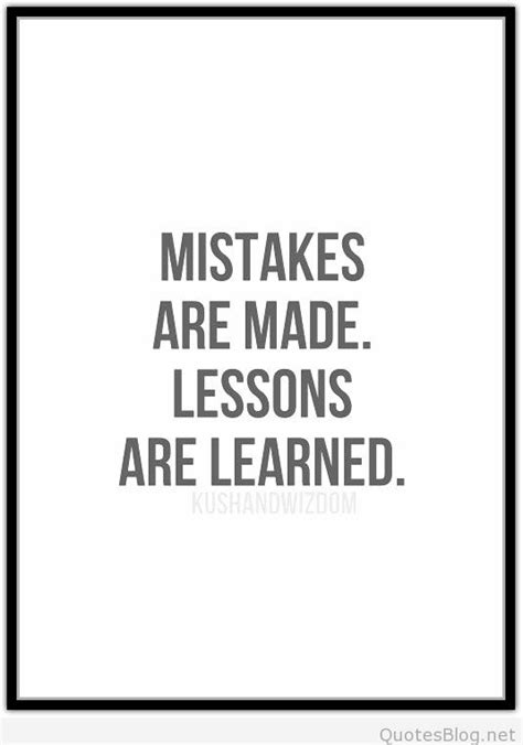 Learnt A Lesson Quotes