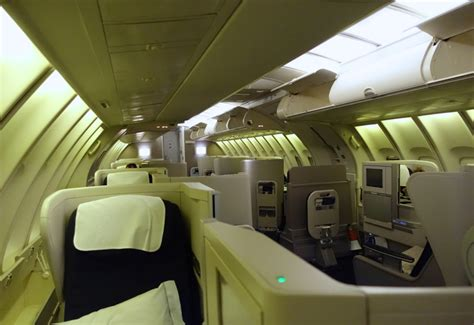 review british airways business class on the 747 400 jfk