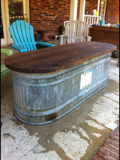 water trough turned   table decor bars  home