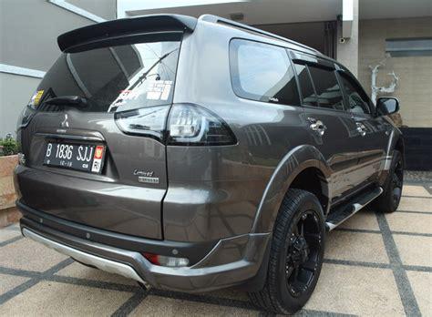 Mitsubishi Pajero Sport Modification by Simple Modification Mitsubishi Pajero Sport Tupanx