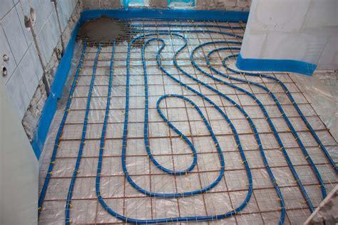 vloerverwarming badkamer douche rh installatietechniek renovatie badkamer