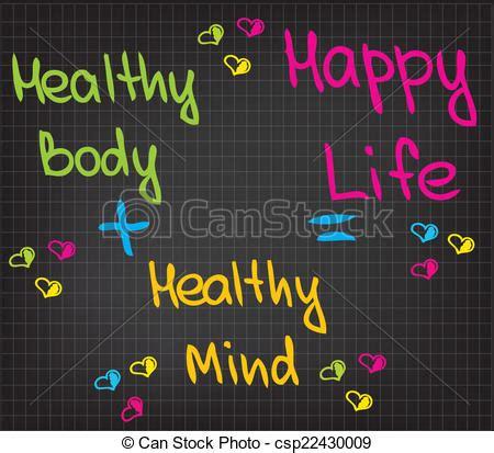 happy life sketched words  happy life